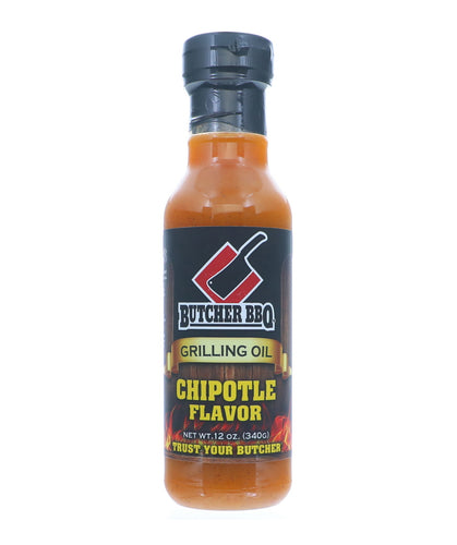 Butcher BBQ Grilling Oil 'Chipotle' 340g