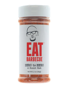 Eat BBQ 'Zero To Hero' Sweet BBQ Rub 189g