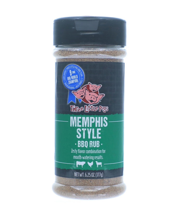 Three Little Pigs BBQ Memphis Style BBQ Rub 177g