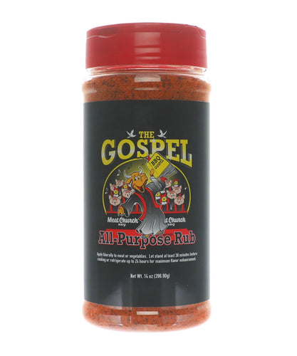 Meat Church 'The Gospel' All Purpose BBQ Rub 397g