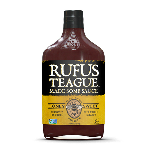 Rufus Teague 'Honey Sweet' BBQ Sauce 453g