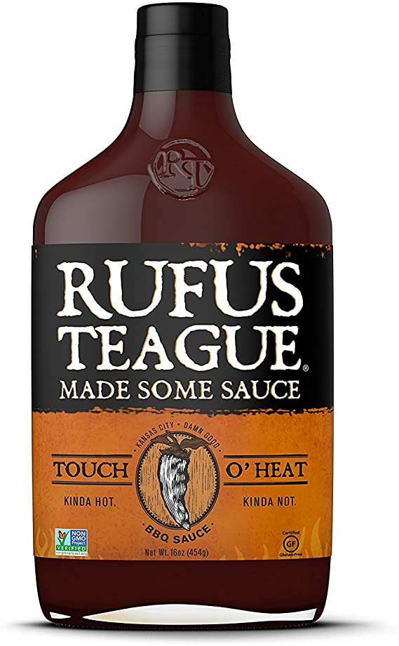 Rufus Teague 'Touch o' Heat' BBQ Sauce 453g