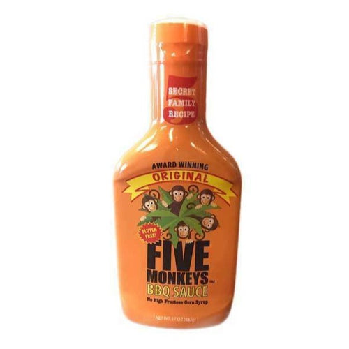 Five Monkeys Original BBQ Sauce 482g