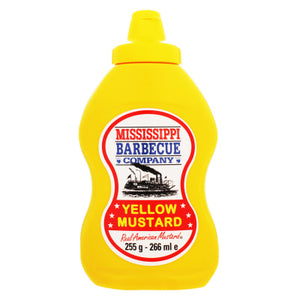 Mississippi Barbecue Yellow Mustard 255g