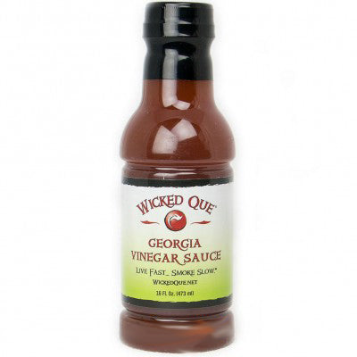 Wicked Que Georgia Vinegar Sauce 473ml