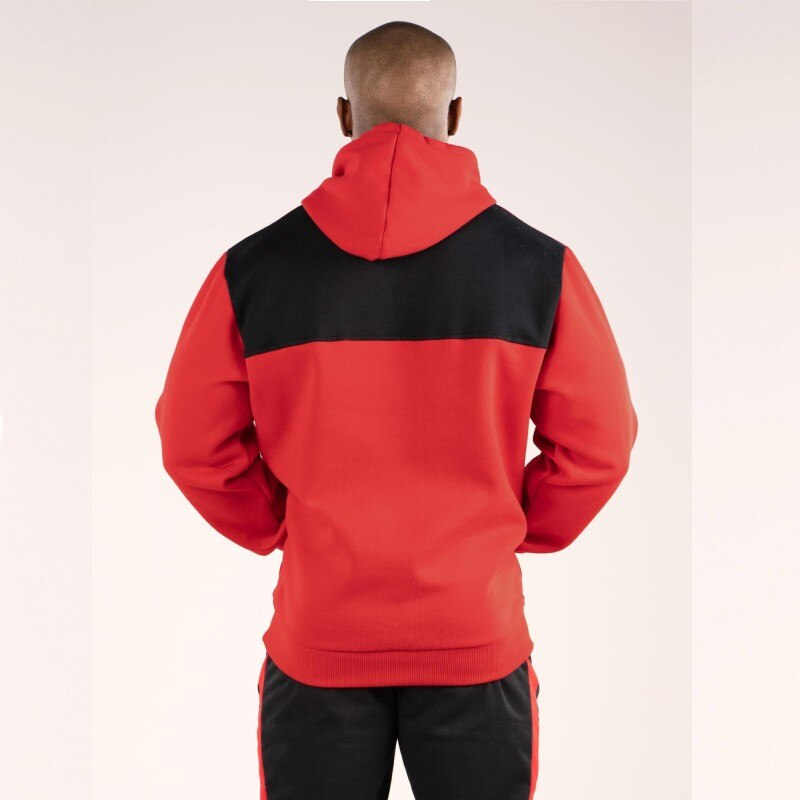 Fashion Hoodies Men Sudaderas Hombre Hip Hop Mens Brand Solid hooded zipper