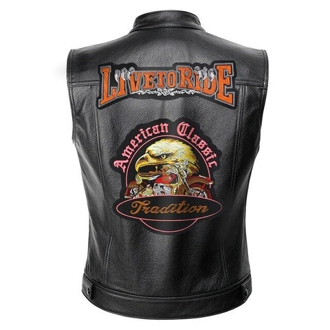 Veste Biker<br> Live to Ride