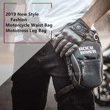 ROCK BIKER Motorcycle drop leg bag Waterproof Nylon Motorcycle bags outdoor Casual waist bag motorcycle Fanny Pack moto bag