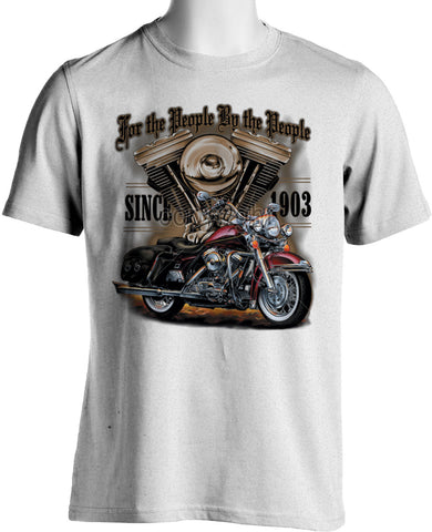 T-Shirt Biker<br> Golden Motor