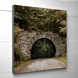 12x12 THE LIGHT AT THE END OF THE TUNNEL