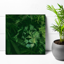 Load image into Gallery viewer, 12x12 KING OF THE WEED JUNGLE