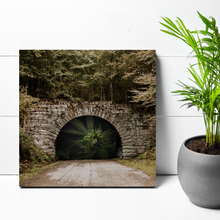 Load image into Gallery viewer, 12x12 THE LIGHT AT THE END OF THE TUNNEL