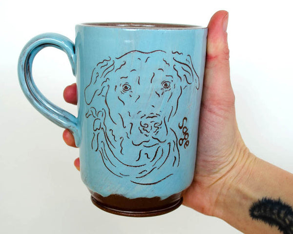 Sweet and Simple Pet Mug - Blue PRE ORDER