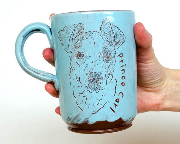 Custom Pet Mug - Light Blue PRE ORDER