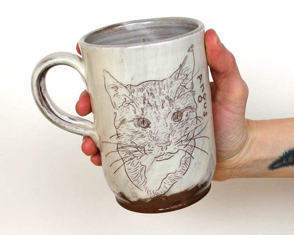 Custom Pet Mug - White PRE ORDER