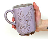 Sweet and Simple Pet Mug - Lavender PRE ORDER