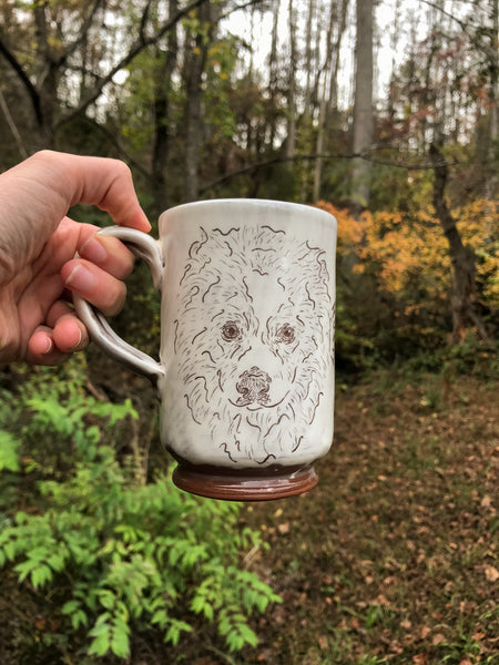 Custom Dog Mug - White PRE ORDER 2021