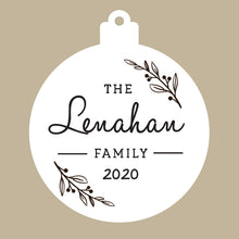 Load image into Gallery viewer, Family Custom Cedar Ornament