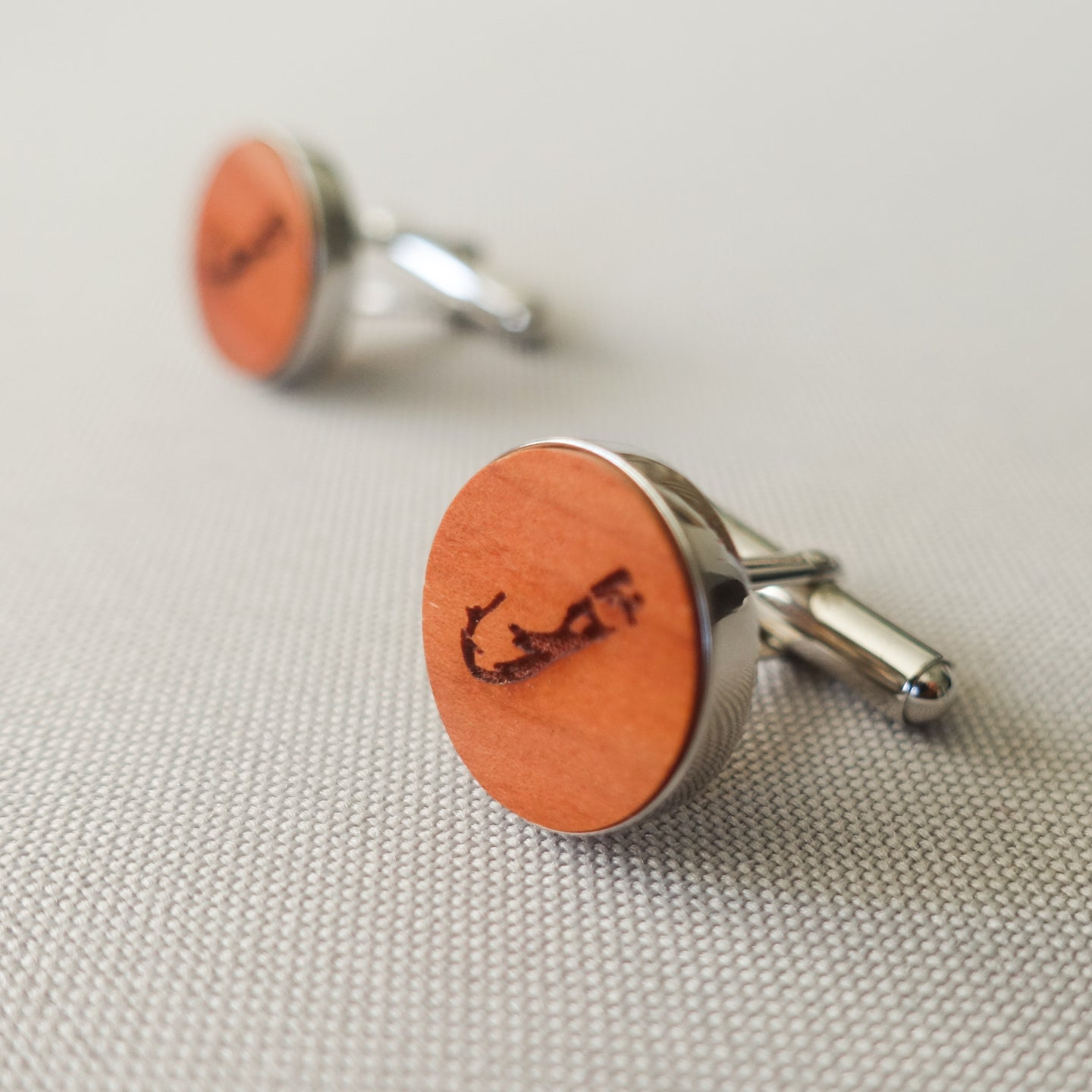 Bermuda Map Cufflinks