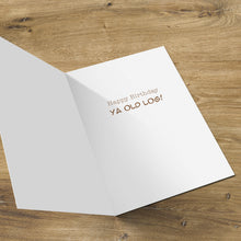 Load image into Gallery viewer, Aged Cedar Birthday Card