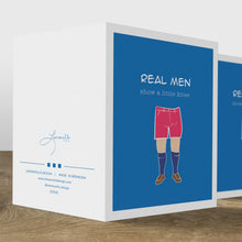Load image into Gallery viewer, Real Men Birthday Card