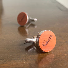 Load image into Gallery viewer, Bermuda Map Cufflinks