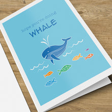 Load image into Gallery viewer, Feeling Whale Card
