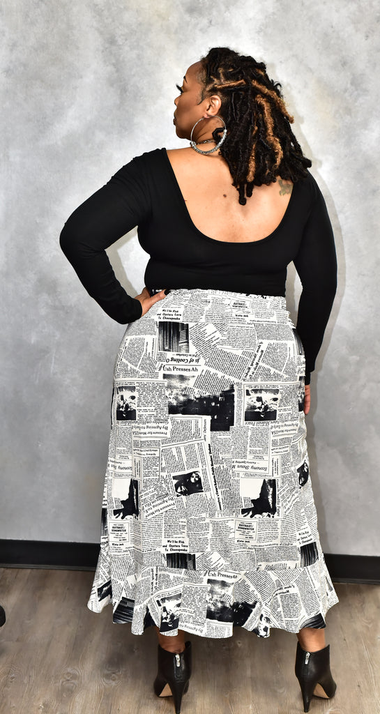 News Weekly Skirt