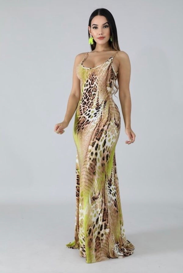 Wild Cheetah Dress