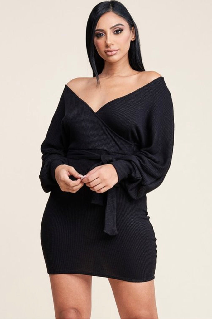 Tami Mini Sweater Dress