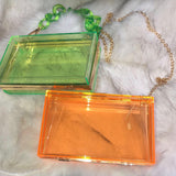 Glassic Rectangle Clutch