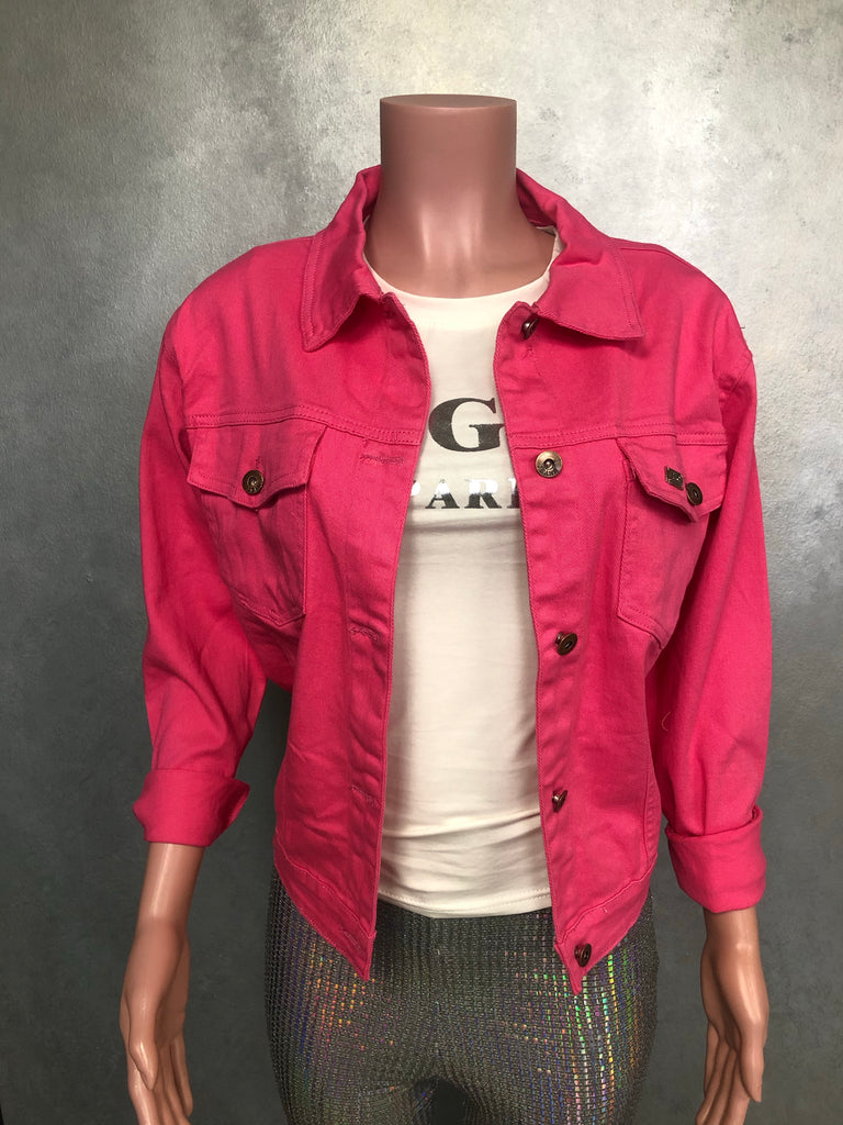 Brick Denim Jacket