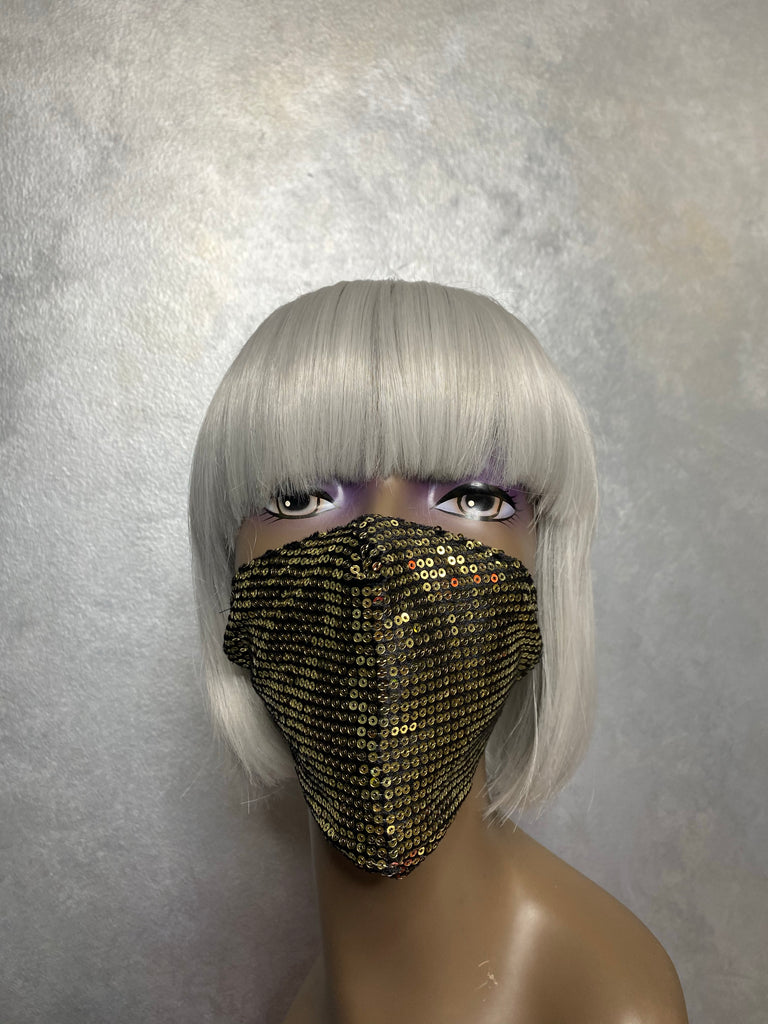 Dipped In Gold Mask