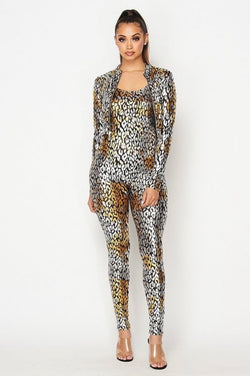 Seal Jumpsuit Set