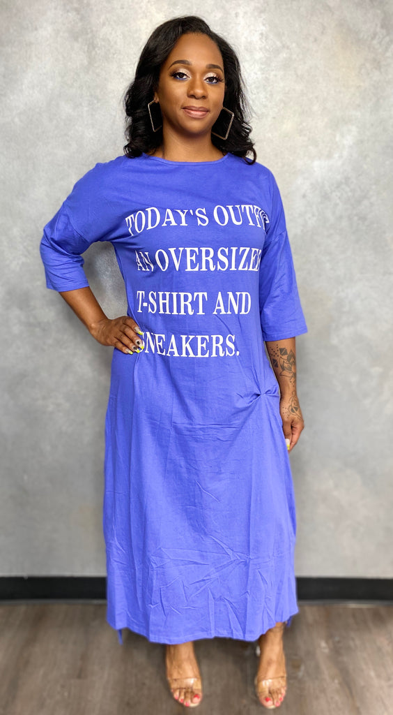 T-Shirt Sneaker Dress