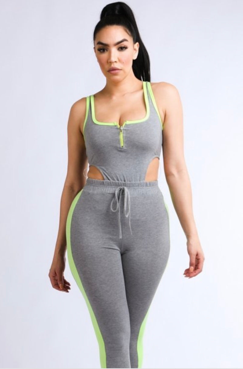 Posted Jumpsuit