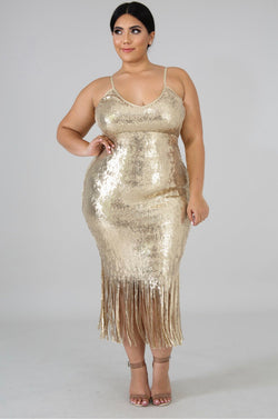 Turner Sequin Dress