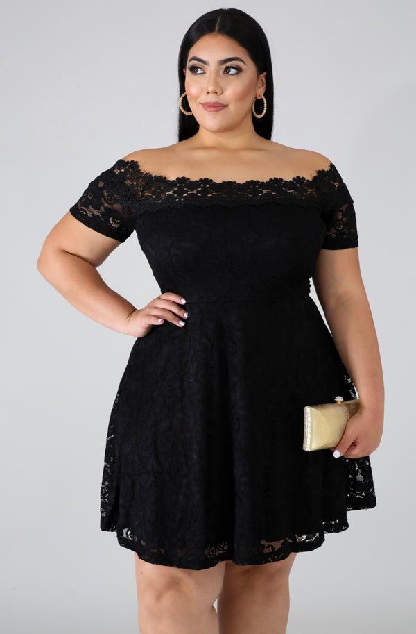 Poise Lace Dress