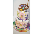 Pastel Paint Splat Cake Kit