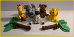 Zoo / jungle animal cake toppers!!!
