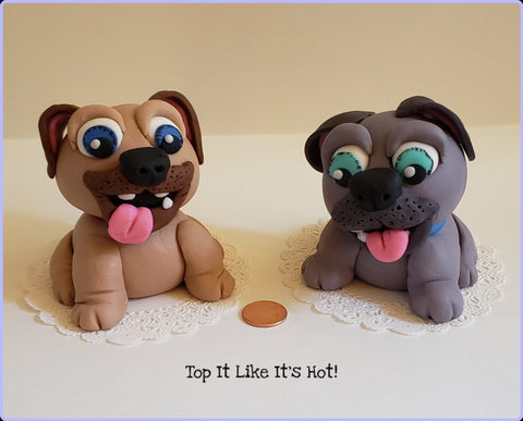 Puppy Pals Cake Toppers