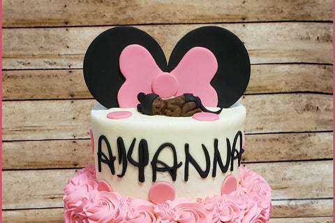Minnie Mouse Cake Kit