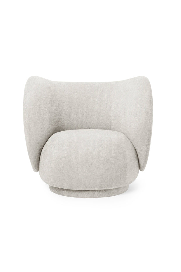 Rico Lounge Chair - Bouclé
