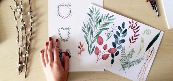 Artist @belizo about her work and nature-inspired illustrations