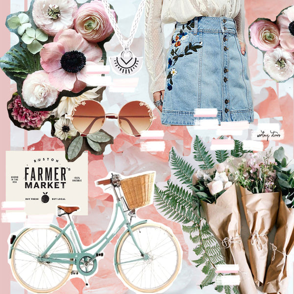 Guest post: Spring moodboard by @courtneysteeves
