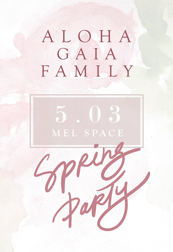 Aloha Gaia Family: Big Moscow Party