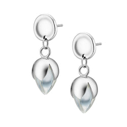 PADMINI Earrings - Clear Quartz