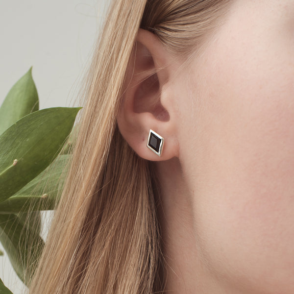 RHOMB Earring - Black Onyx