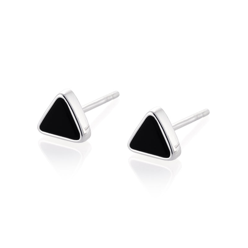 MAASAW Earrings - Black Onyx
