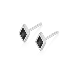 RHOMBI Earrings - Black Onyx